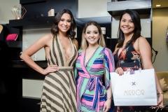 Brenda Bernardo, Luiza Bezerra e Ivana Rodrigues