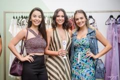 Nelly Jereissati, Brenda Bernardo e Ana Clara Furigo