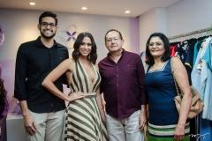 Ricardo Maia Junior, Brenda Bernardo, Ricardo Maia e Antonia Bernardo
