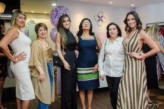 Vera de Oliveira, Emanuela Holanda, Samile Capibaribe, Antonia Bernardo, Euzanir Arruda e Brenda Bernardo