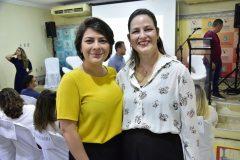 Cinara Carneiro e Fabiola Arrais