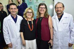 Fabricio Cesar Meneses, Socorro França,  Joana Maciel e João Franca