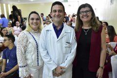 Ilana,  Fabrício Cesar Meneses e Joana Maciel