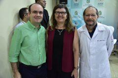 João Luiz Franca, Joana Maciel e João Franca