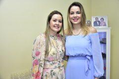 Liana Fujita e Onélia Santana