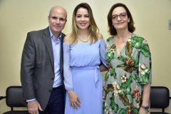 Luiz Eugenio Franca e Onélia Santana e Patricia Jereissati