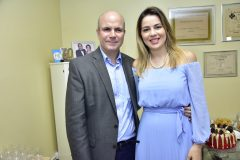 Luiz Eugenio Franca e Onélia Santana