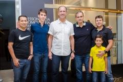 Agildo Brasileiro, Pedro Coelho, Regis Medeiros, Alexandre Sales, Marcelo e Matheus Perez
