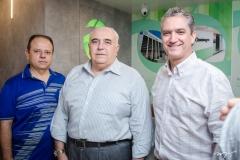 Claudio Pinho, Aramicy Pinto e Rogerio Escarabel