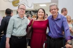 Fernando Benevides, Marucia Benevides e Paulo Marchon