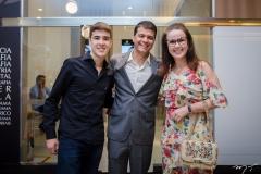 João Pedro Carvalho, Juliano Viana e Irene Cerenario