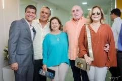Juliano Viana, Alfredo Gurjão, Júlia Filomeno, Walquimar Santos e Sara Filomeno