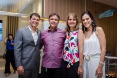 Juliano Viana, Gilberto Costa, Daniela Costa e Paula Viana