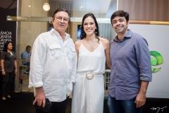 Maurício Cals, Paula Viana e Eduardo Cals