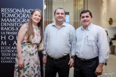 Natália Freitas, Daniel Bezerra e José Monte