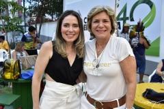 Águeda Muniz e Stella Rolim