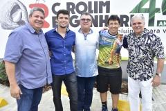 Bob Santos, Caio e Luiz Carlos Rolim, Alexandre Mourão e Pio Rodrigues