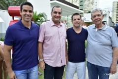 Lucas Caminha, Kalil Otoch, André Rolim e César Rego
