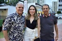 Pio Rodrigues, Águeda Muniz e Eduardo Rolim