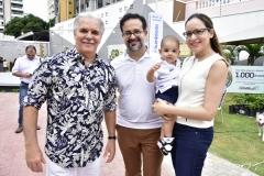 Pio Rodrigues, Márcio, Enzo e Manoela  Crisóstomo