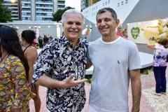 Pio Rodrigues e Francisco Hissa