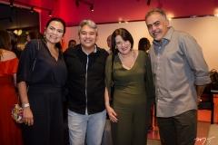 Ana Claudia Martins, Cristiano Saraiva, Liduina Franco e Marcos Ferreira