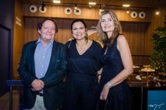 Geovane Oliveira, Ana Claudia Martins e Laura Paiva