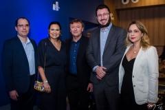 Gilberto Barros, Ana Claudia Martins, Maurício Filizola, Rodrigo Leite e Georgia Philomeno (1)