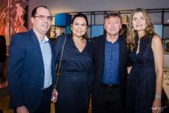 Gilberto Barros, Ana Claudia Martins, Maurício Filizola e Laura Paiva (1)