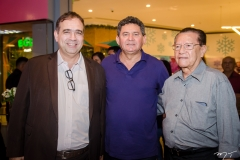 Hugo Leão, Francisco Everton e Benoni Vieira