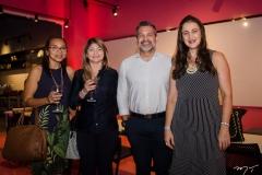 Katiucia Dias, Dora Fernandes, Leonida Macedo e Alcilane Mota