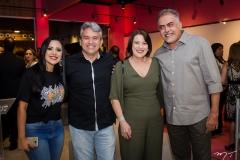 Sandra Freitas, Cristiano Saraiva, Liduina Franco e Marcos Ferreira (1)