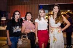 Sandra Freitas, Eloneide Barros, Samara Queuiroz e Silvia Resende