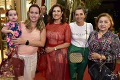 Alice e Fernanda Laprovitera, Márcia Teixeira, Márcia Travessoni e Ethel Rios