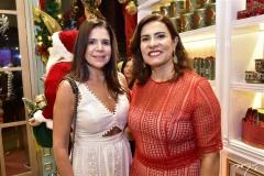 Maria Lúcia Negrão e Márcia Teixeira