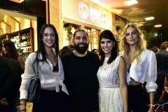 Geovana Siqueira, Luiz Victor Torres, Flávia Laprovitera e Dani Gondim