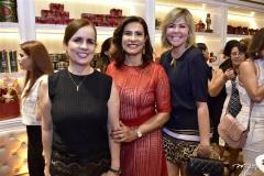 Gina Schleahter, Márcia Travessoni e Patrícia Dias