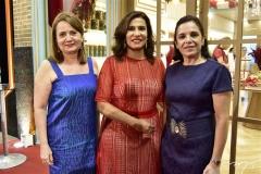 Helena Guedes, Márcia Teixeira e Elisa Laprovitera