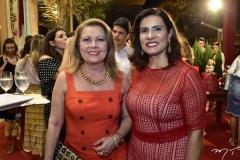 Inês Castro e Márcia Teixeira