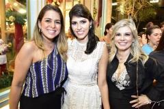 Laura Dantas, Flávia Laprovitera e Neli Cunha