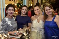 Lilian Quinderé, Elisa Laprovitera, Celma Prata e Helena Rafael