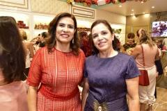 Márcia Teixeira e Elisa Laprovitera