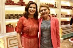 Márcia Teixeira e Salete Araújo