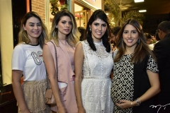 Mariana Pimenta, Graziela Albuquerque, Flávia Laprovita e Tayra Romcy