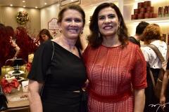 Sana Teles e Márcia Teixeira