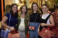 Sidia Holanda, Cris Machado, Cristiana Sátiro e Ticiana Barreira