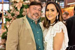 Abraão Freire e Marília Lopes