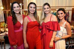 Guiliana Botelho, Mariana Pimenta, Beatriz Teles e Roberta Quaranta