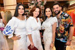Kátia Targyno, Anne Mourão, Marília Lopes e Marco Abreu