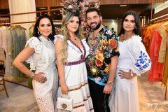 Marília Lopes, Debora Sena, Marco Abreu e Kátia Targyno